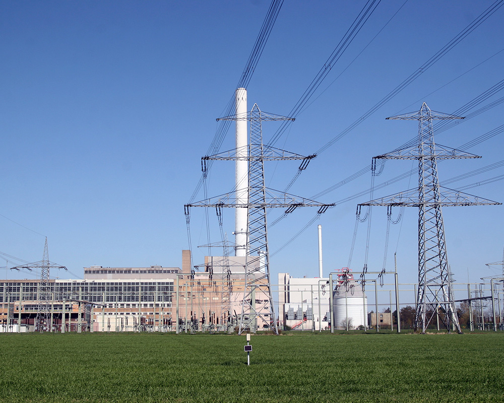 The Landesbergen gas-fired power plant