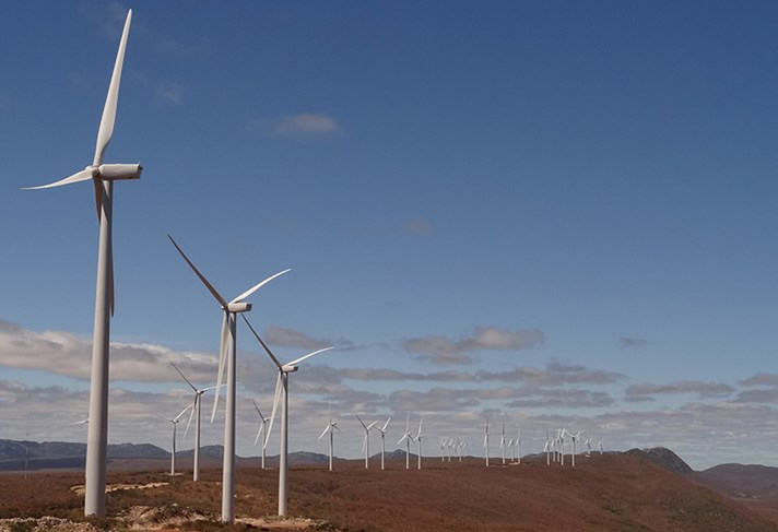 Der brasilianische Windpark in Bahia