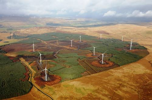 Andershaw Windpark Schottland